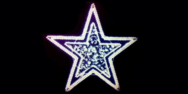 Stella Di Natale A 5 Punte.Stella 5 Punte Luminarie Di Natale Luminarie Di Natale